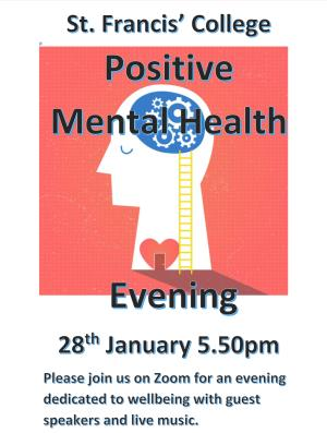 Positive Mental Health Evening