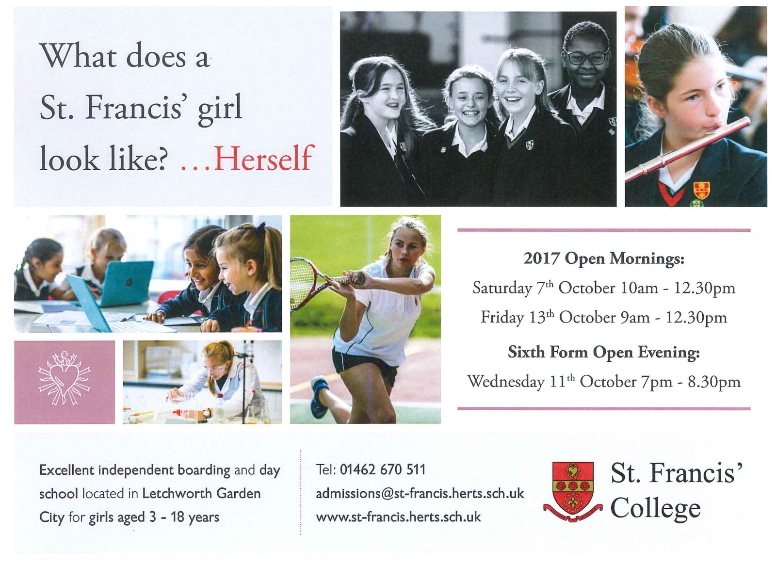 St Francis Open Morning